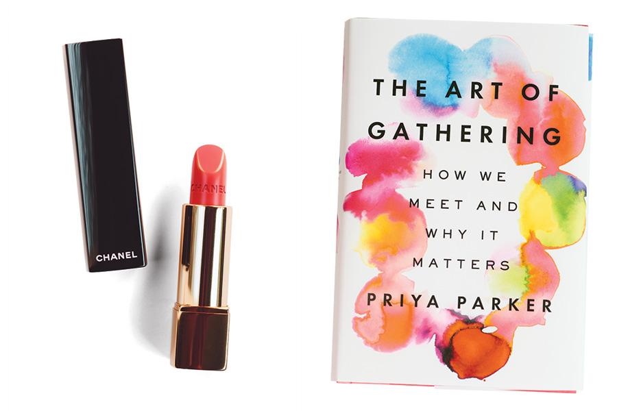 sydney grims chanel rouge coco lipstick art of gathering priya parker