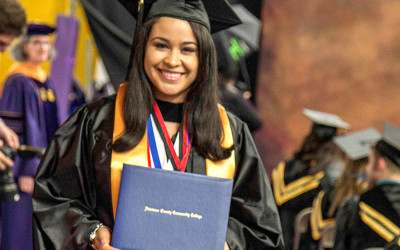 yesenia diaz lopez delco first generation student