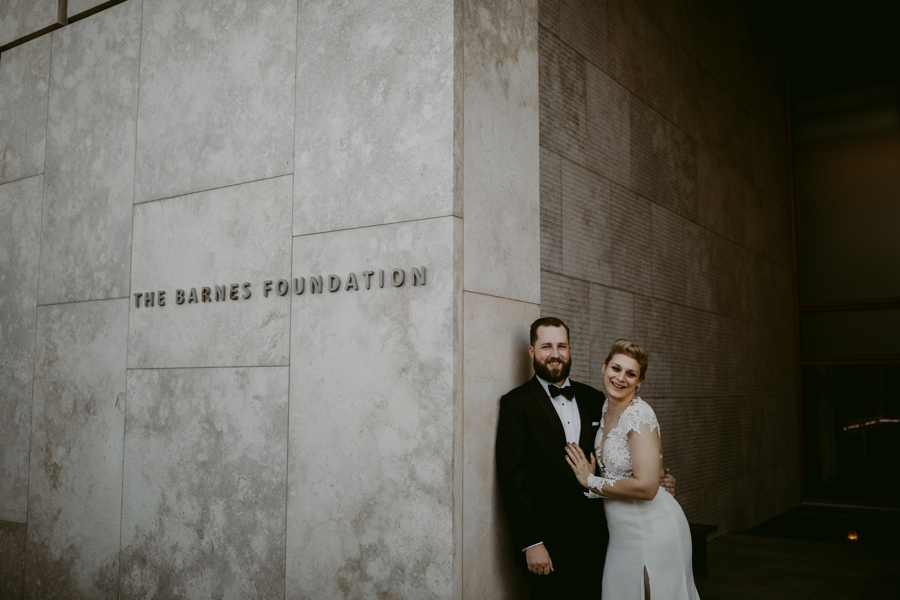 This Haute Modern Barnes Wedding Is Everything