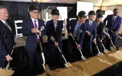 The Laurel ceremonial groundbreaking