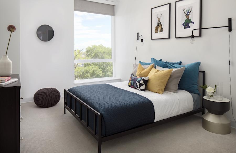 lincoln square apt bedroom