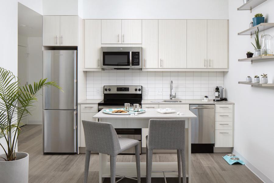 lincoln square apt kitchen