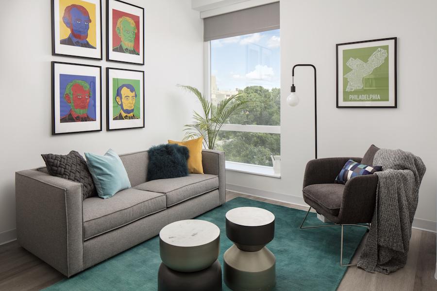 lincoln square apt living room