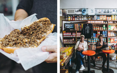 best cheesesteaks gooey twin