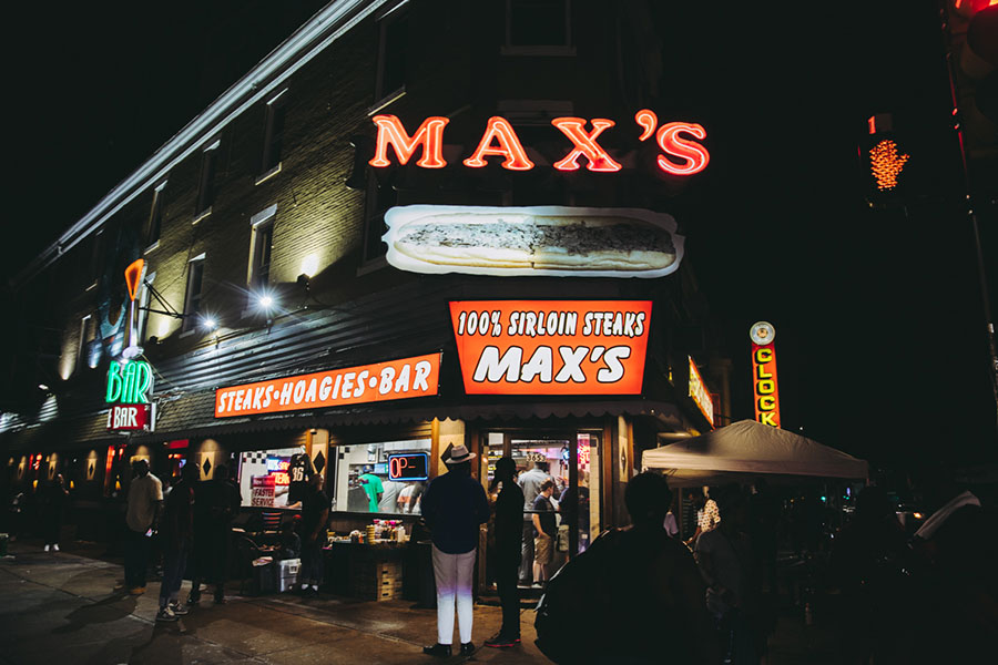 best cheesesteaks maxs