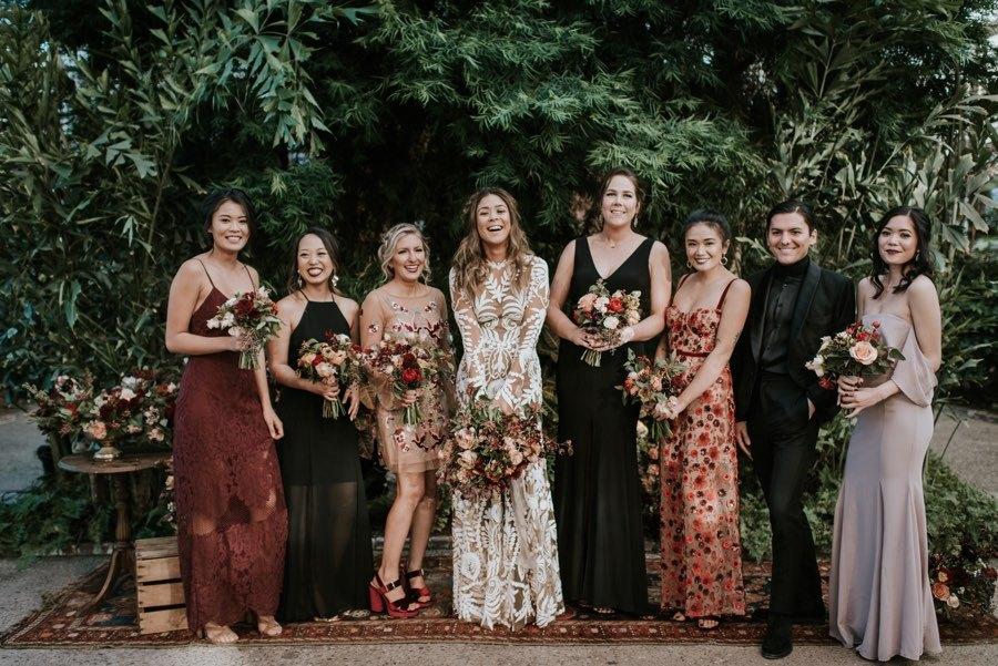 boho bridesmaid dressses