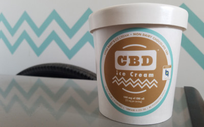 cbd oil ice cream