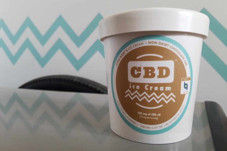 cbd oil ice cream