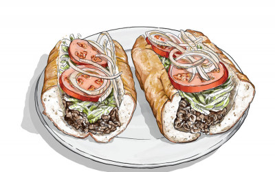 cheesesteak hoagie philadelphia