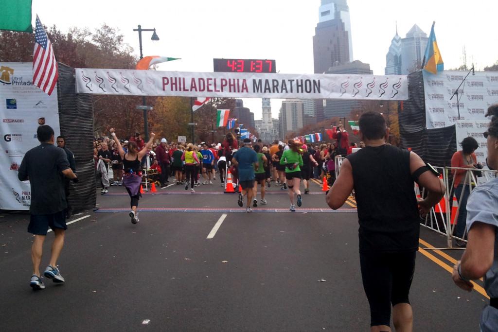 eight week marathon training program