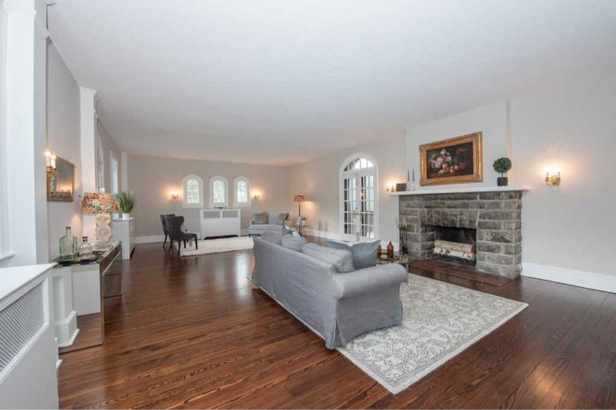 house for sale bryn mawr english gothic living room