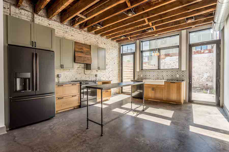 house for sale east kensington carriage house kitchen