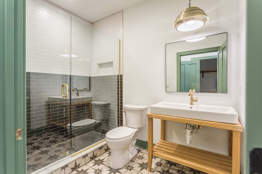 house for sale east kensington carriage house master bathroom
