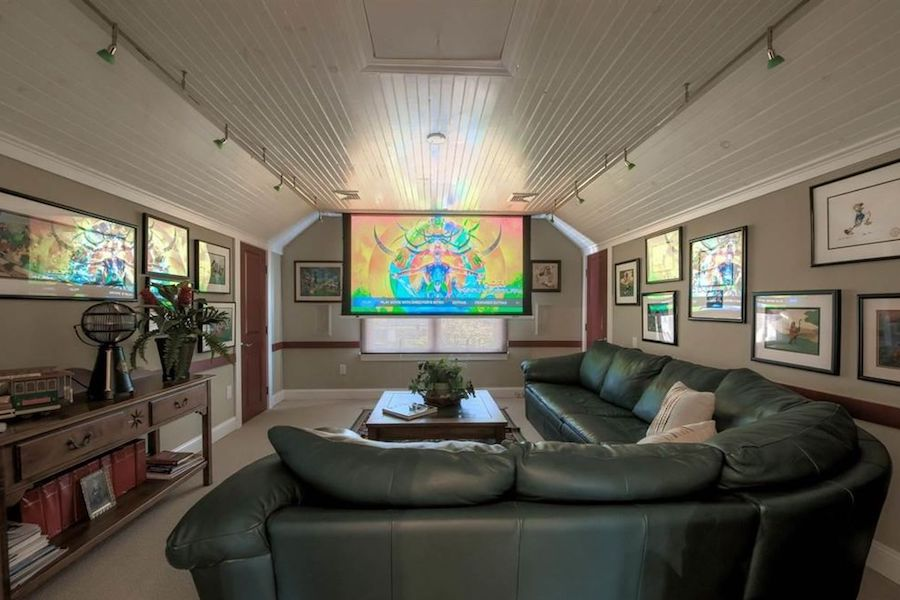 house for sale margate colonial home theater