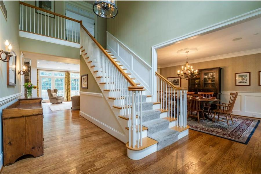 house for sale springton lake colonial foyer