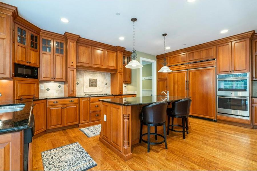 house for sale springton lake colonial kitchen