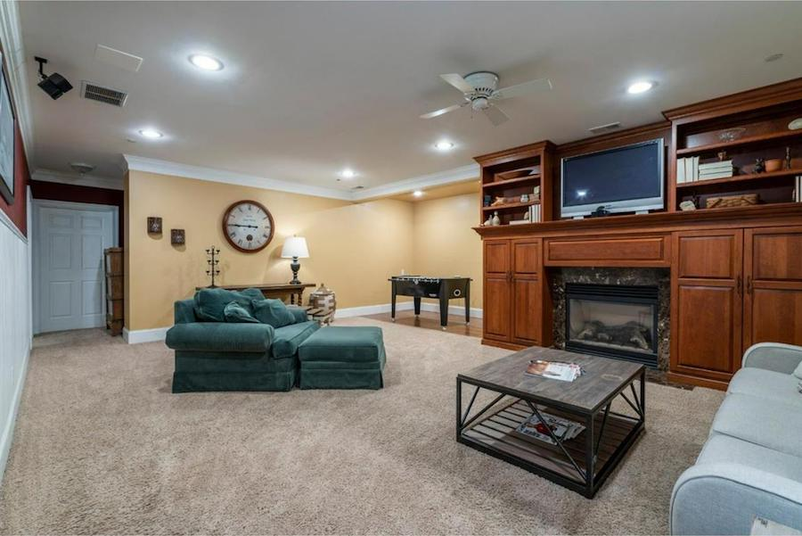 house for sale springton lake colonial lower great room