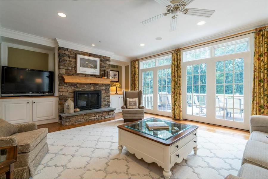 house for sale springton lake colonial great room