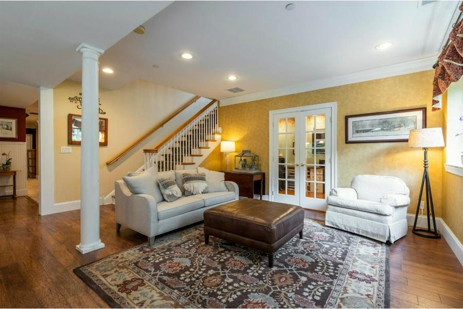 house for sale springton lake colonial lower living room