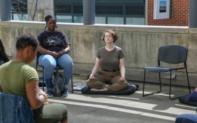 philadelphia art museum meditation