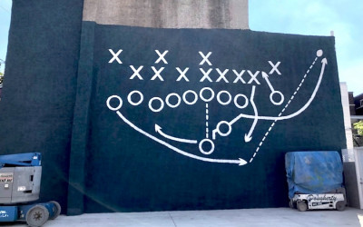 philly special mural eagles