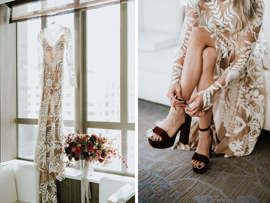 A Free People Buyer S Rad Boho Wedding At Philly S Horticulture Center