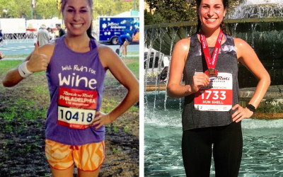 run half marathons faster