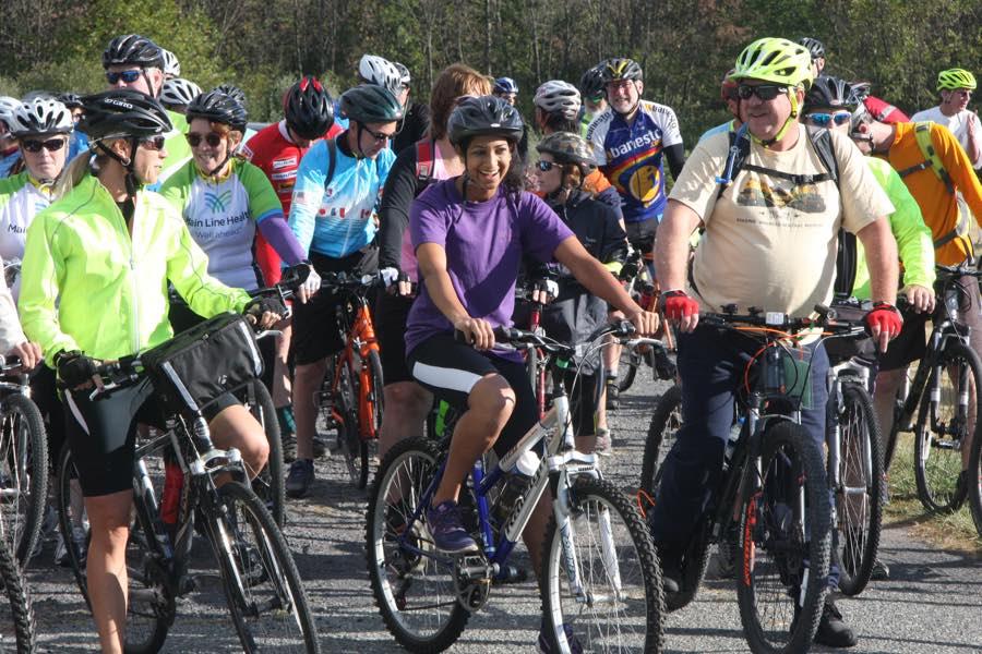 Schuylkill River bike ride