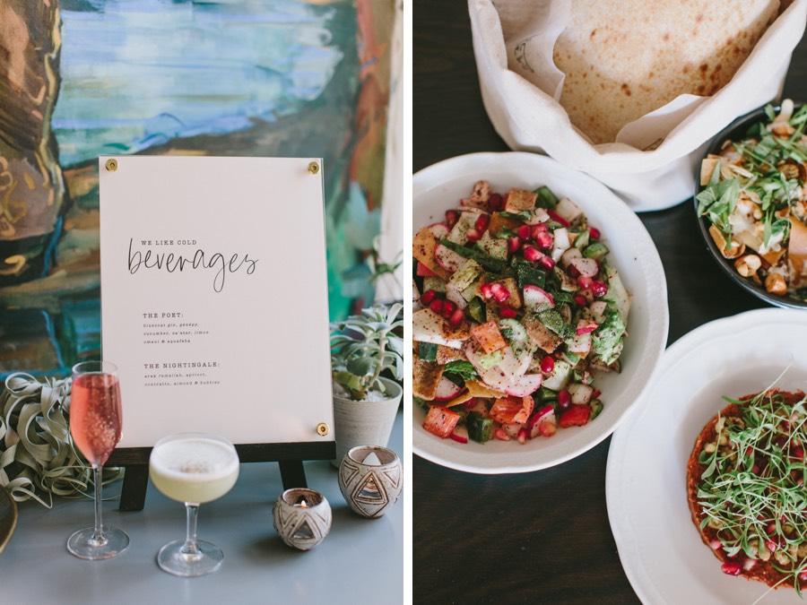 suraya wedding food