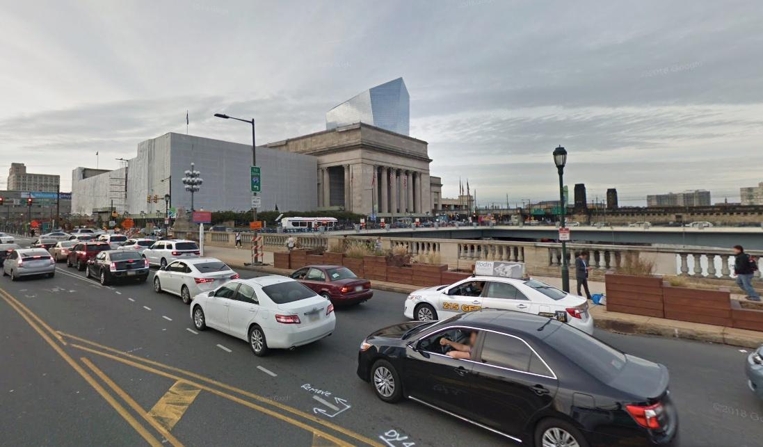 30th street station traffic congestion
