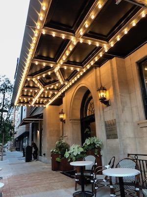 parker spruce hotel fairfield inn makeover marquee