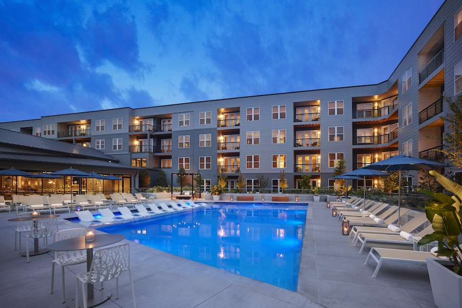 apartments for rent ave kop pool courtyard