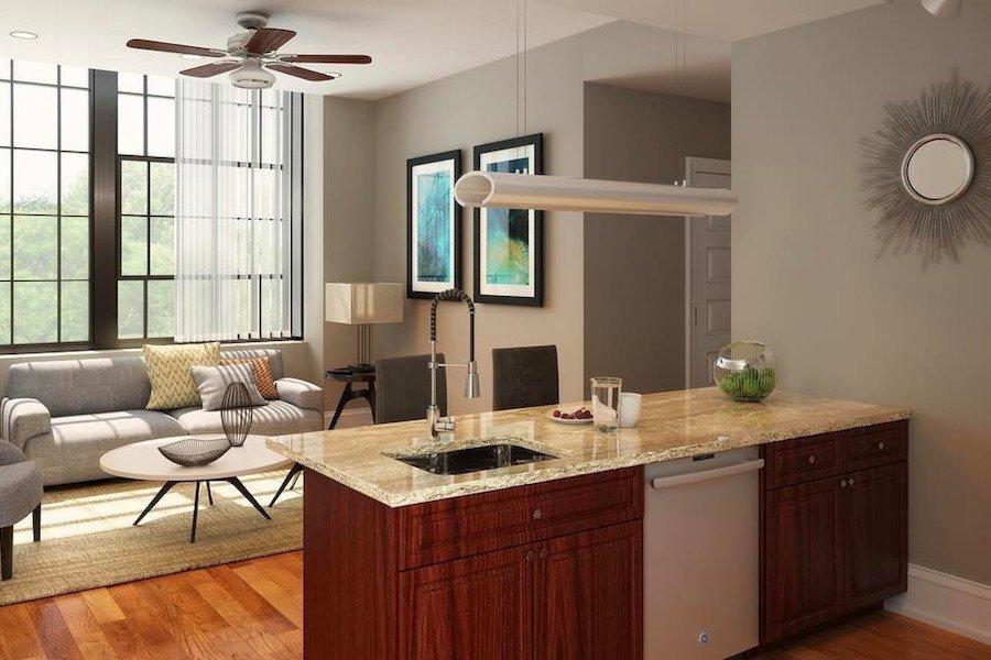 apartments for rent umbrella building model apartment rendering