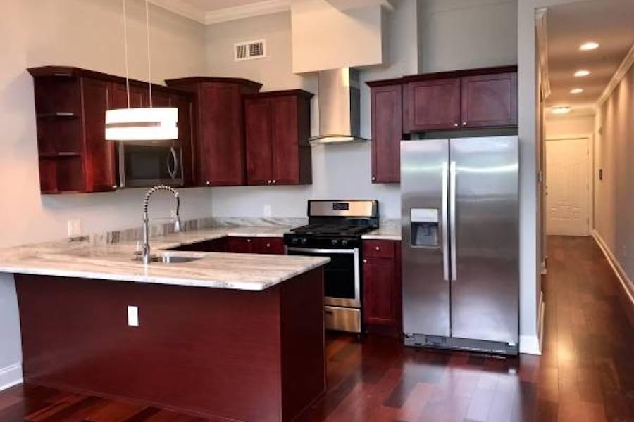 apartments for rent umbrella building model apartment kitchen