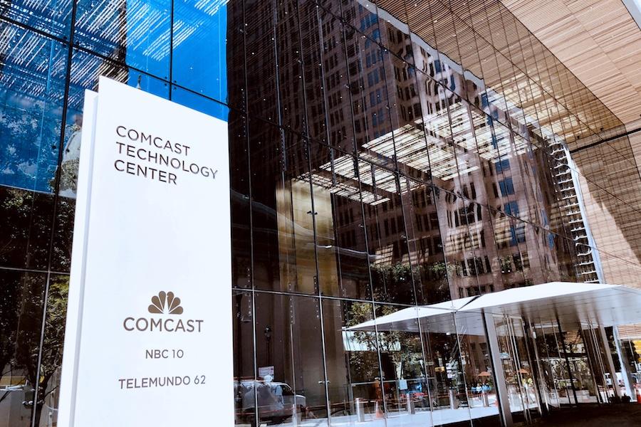 comcast technology center tour office building entrance