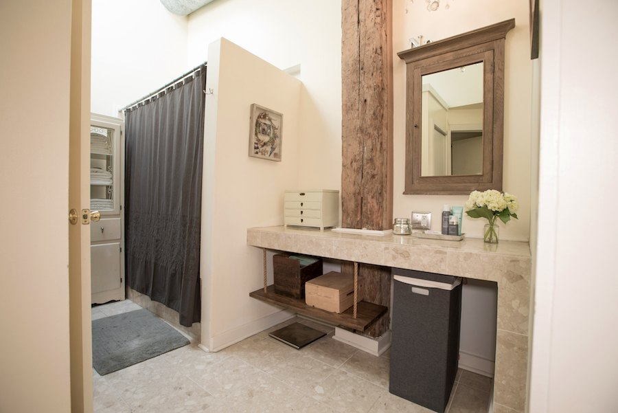condo for sale northern liberties industrial loft master bathroom and dressing area