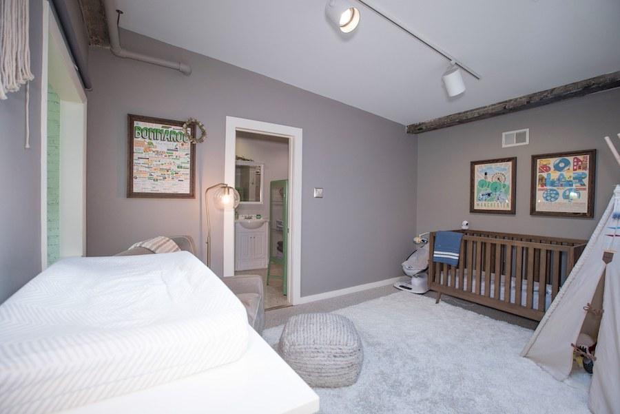condo for sale northern liberties industrial loft bedroom