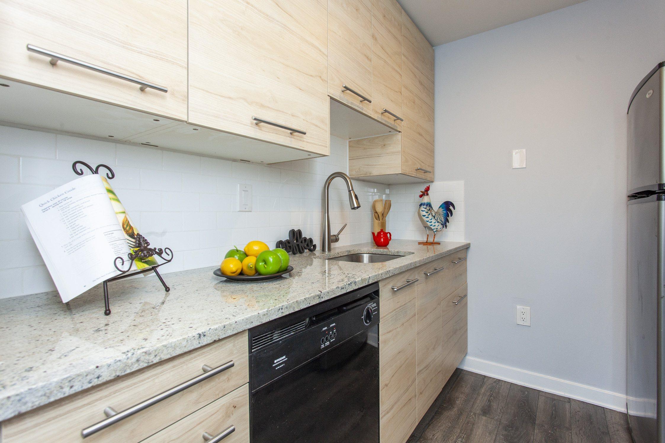 condo for sale old city bridgeview starter kitchen