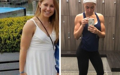 counting macros weight loss transformation