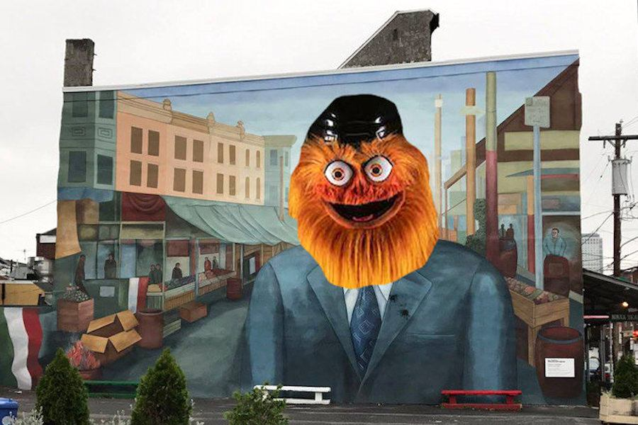 gritty frank rizzo mural