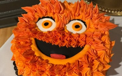 gritty wedding cake