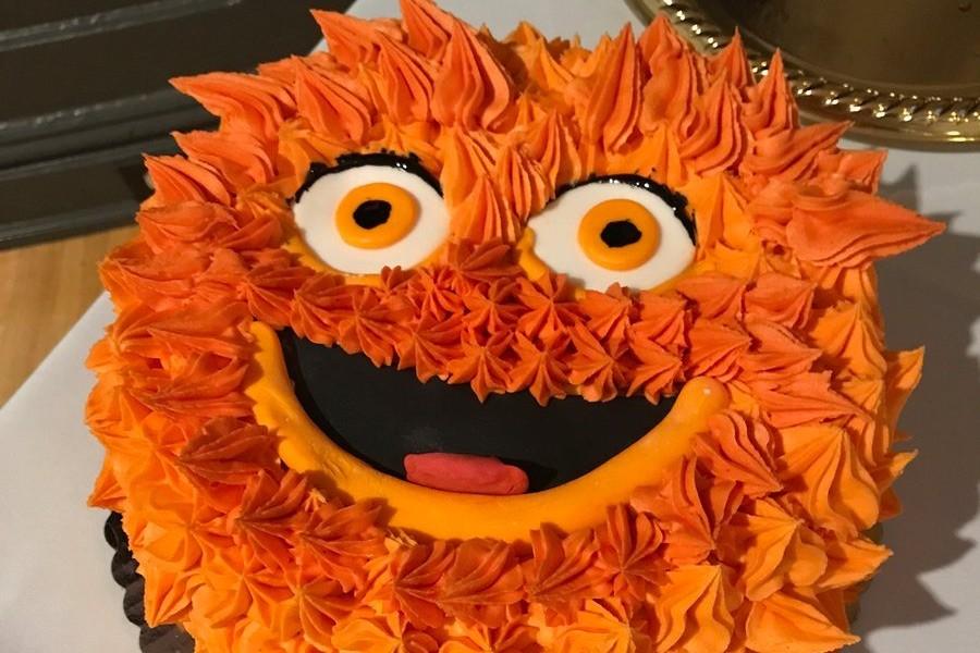gritty wedding cake