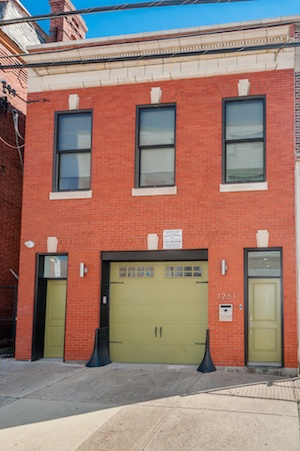 house for sale brewerytown carriage house exterior front