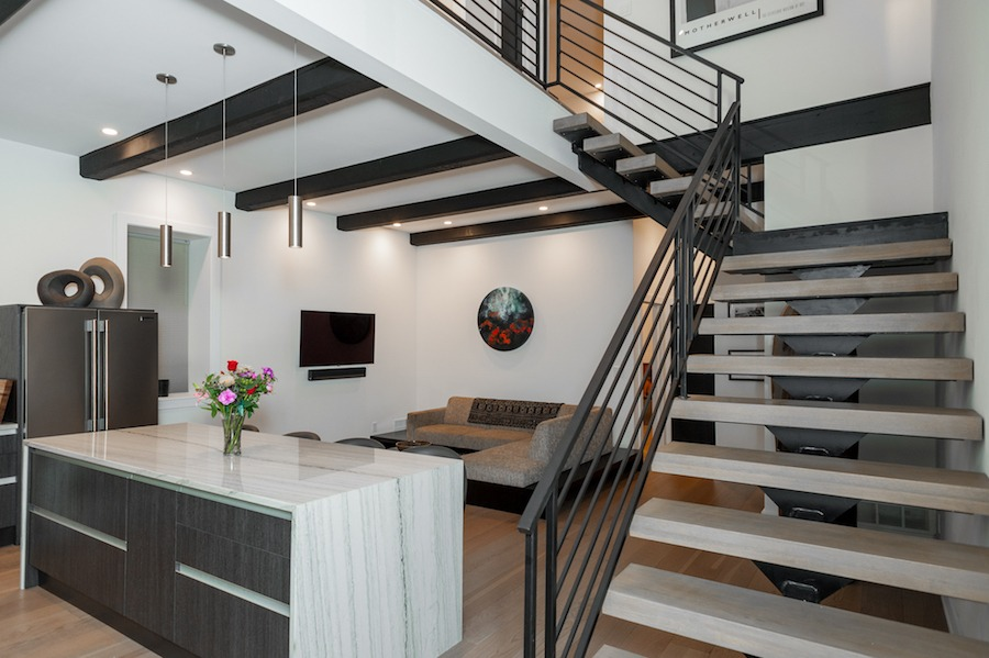 house for sale brewerytown carriage house dining room