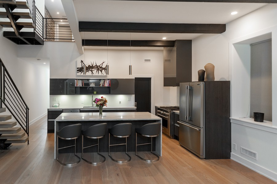 house for sale brewerytown carriage house kitchen