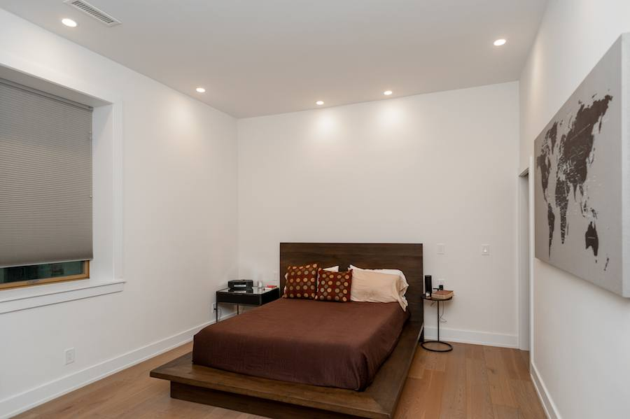 house for sale brewerytown carriage house master bedroom