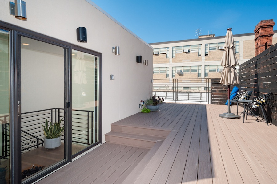 house for sale brewerytown carriage house roof deck