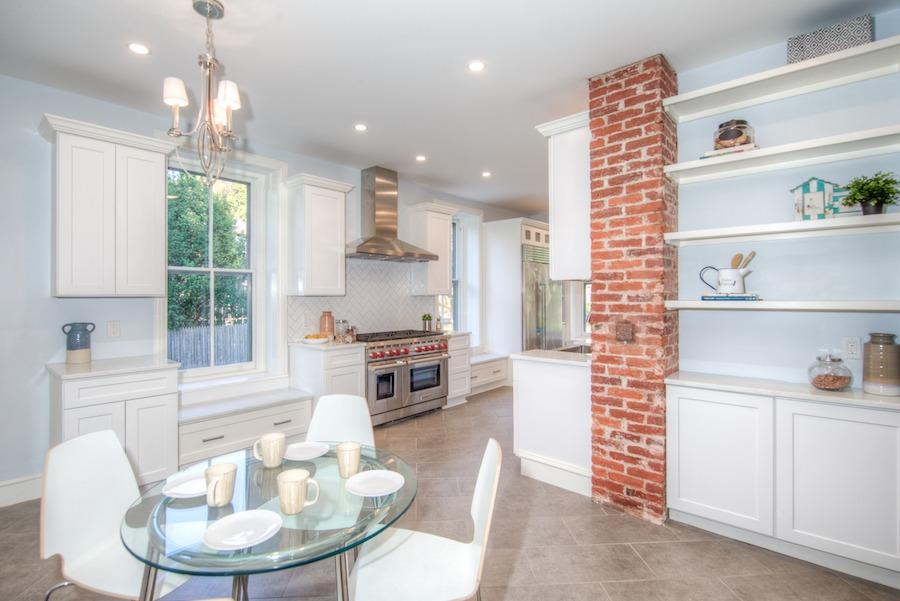 house for sale chestnut hill restored victorian kitchen and breakfast nook