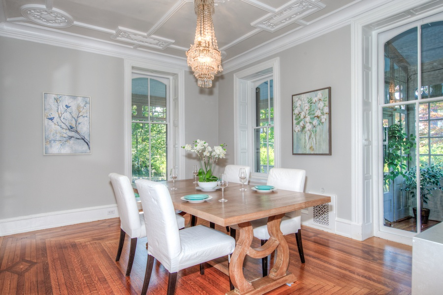 house for sale chestnut hill restored victorian dining room