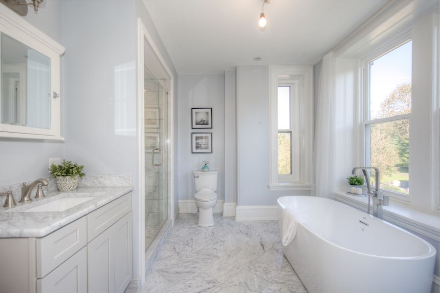 house for sale chestnut hill restored victorian master bathroom